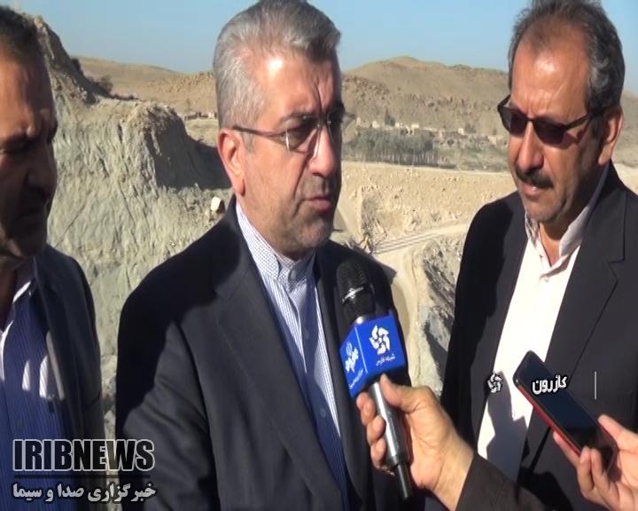 سفر وزیر نیرو به فارس؛ بازدیداز سد نرگسی و آغاز ساخت چند طرح