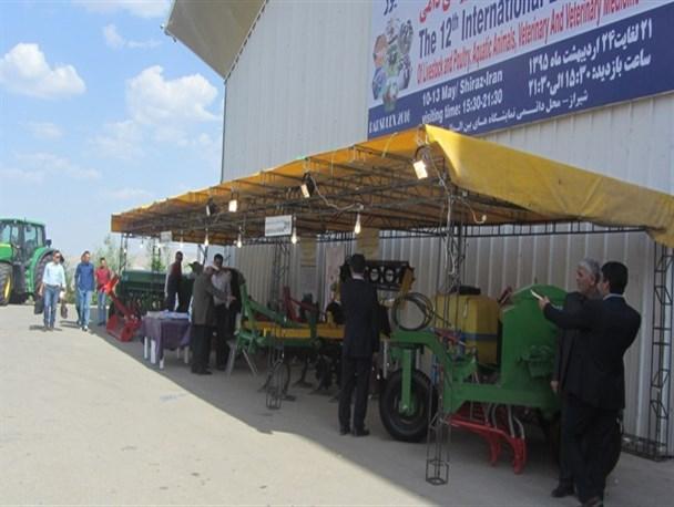 آغاز به کار نمایشگاههای بین المللی فارس با نمایشگاه کشاورزی