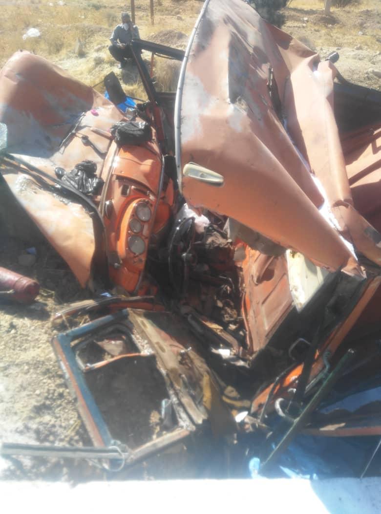 وقوع حادثه مرگبار رانندگی در جاده فسا شیراز